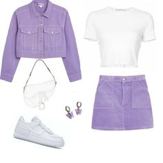 Swag Outfits For Girls, Cute Comfy Outfits, Pretty Outfits, Stylish Outfits, Girl Outfits, Korean Girl Fashion, Look Fashion, Kpop Fashion Outfits, Polyvore Outfits