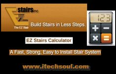 Free Online Stair Calculator For Engineers To Get Material List In Four Easy Steps