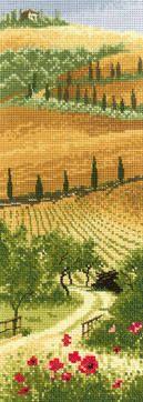 Tuscany - John Clayton International Cross Stitch