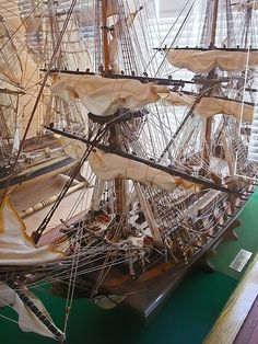 Model of 74-gun French ship Le Protecteur launched in 1760 CE