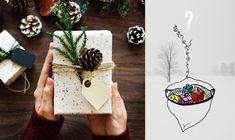 Wer bringt die Geschenke? (m)ein.blick bringt die Geschenke! Sinnvoll schenken mit dem (m)ein.blick Gutschein! Illustration, Gift Wrapping, Gifts, Gift Cards, Paper Wrapping, Illustrations, Wrapping Gifts, Gift Packaging, Favors