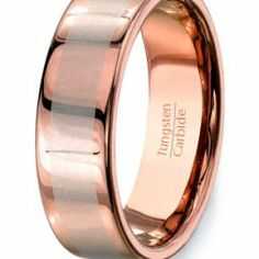 Wolfrámkarbid ( Vidia) gyűrű , Tungsten carbide wedding band