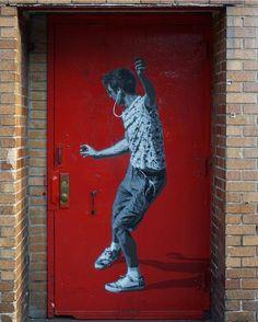 Brooklyn, New York: nuovo pezzo della street artist norvegese Strøk.