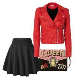 """Queen"" by italianspanishwoman on Polyvore featuring moda, Dolce&Gabbana y IRO"