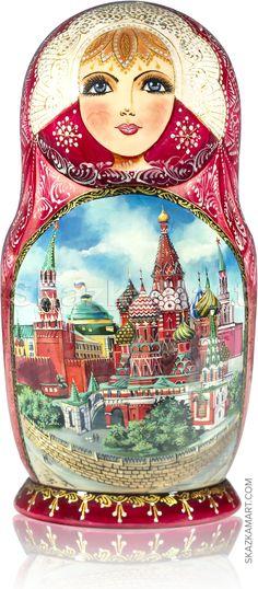 Красная Площадь. Москва - Коллекционные   Skazkamart