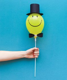 """5"""" Smiley Face Balloon – Oh Happy Day Shop"""
