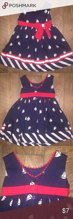 Sailor dress Very good condition BLUEBERI Dresses