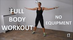 Full body workout for women – at home with no equipment - YouTube