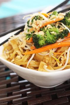 I could slurp up this peanut sauce through a straw... SO GOOD. Get the recipe HERE