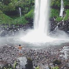 Air Terjun Jagir adalah air terjun yang terletak di Dusun Kampung Anyar, Desa Taman Suruh, Kecamatan Glagah, Kabupaten Banyuwangi. Air Terjun Jagir memiliki fakta unik sedangkan memiliki tiga air terjun di satu lokasi yang membuat orang sering menyebutnya Three in One Waterfall, Air Terjun Triplet, Air Terjun Saudara, hingga Air Terjun Angel .. Waterfall, Search, Outdoor, Outdoors, Searching, Waterfalls, Outdoor Games, The Great Outdoors