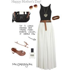 In honor of Mother's Day....If you could borrow one piece from your mother's closet, what would it be??? I know my mom has a white maxi and this is what I would borrow and one way I would style it. Just one style inspiration today folks ...I'm tired!! Happy Mother's Day to all the mothers!! . Hope you had a wonderful day! #ootd #mydreamcloset #iputthistogether #rockitownit #60secondstyle #momstyle
