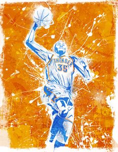 NBA posters by Caroline Blanchet, via Behance