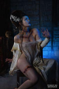 Horrify Me Image Bride of Frankenstein Horror Icons, Horror Art, Creepy Horror, Looks Instagram, Prosthetic Makeup, Horror Movie Characters, Bride Of Frankenstein, Special Effects Makeup, Stunning Photography