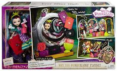 Hearty Ever After High Way To Wonderland Playset Discontinued Rare Collectable Excellent In Quality
