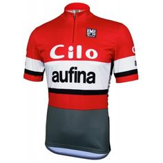 Cilo Aufina Retro Jersey - Short Sleeve Vintage Cycles f48974086