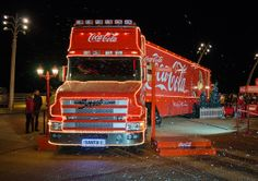 coca cola christmas | The Coca-Cola Christmas Truck | Flickr - Photo Sharing!