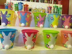 Easter buckets & look at those tumblers too