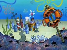 spongebob bikini bottom - Google Search Spongebob House, Spongebob Friends, Spongebob Background, Meme Background, Iphone Backrounds, Spongebob Painting, Bottom Paint, Pineapple Under The Sea, Use E Abuse