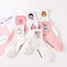 Cheap female socks, Buy Quality fashion woman socks directly from China women fashion socks Suppliers: Elegant Lovely Cartoon Sweet Cotton Women Socks Cute Animals Character Ladies and Female Socks Fashion Casual Short Socks Men Crazy Socks, Cool Socks, Sock Animals, Cute Animals, Short Kaki, Skateboard, Garter Belt And Stockings, Lace Garter, Custom Socks