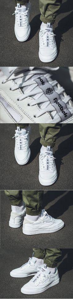 Reebok Club C 85 IT 'White/Skull Grey' http://www.reebok.fr/club-c-85-it/BS6212.html?cm_mmc=ReebokAffiliates_PHG-_-sneakersactus-_-home-_-bs-&cm_mmca1=FR