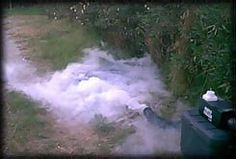Fog machine chiller - helps make fog stay close to ground instead of rising up.
