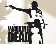 Walking Dead Wall Decal Sticker Decor Sticker Vinyl The Walking Dead Collection 3
