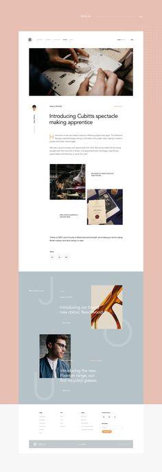 Cubitts on Behance, modern and minimalist web design, technology web design, functional graphic design. Best Picture For Web Design hashtags For Your Taste Yo Web Design Trends, Web Design Mobile, Site Web Design, Web Design Tips, Ux Design, Creative Web Design, Blog Design, Design Ideas, Website Layout