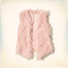 Moor Park Fuzzy Faux Fur Vest