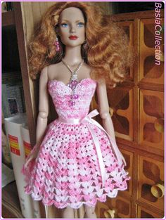 Pink Dress by BasiaCollection.