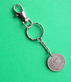 birthday Coin Keychain Keyring, 1995 Chinese Yuan, Personalise the Keyring for the lady with choice of initials 25th Birthday, Key Fobs, Gifts For Women, Initials, Irish, Coins, 21st, Purses, Personalized Items