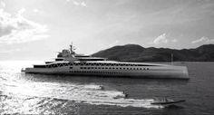 """Fortissimo"" 476ft/145m superyacht by Ken Freivokh Design & Fincantieri • Courtesy of @evilmeerkat"