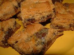 Simply Red: Peanut Butter Bars