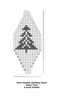 Make your own knitted Christmas baubles for your tree – knitting charts Knitted Christmas Decorations, Knit Christmas Ornaments, 3d Christmas, Christmas Makes, Christmas Knitting, Christmas Projects, Holiday Crafts, Christmas Stockings, Fair Isle Knitting Patterns