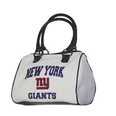 New York Giants NFL Cheer Ladies Handbag by Concept 1. $23.99. How do you cheer for your home team? Your team spirit isn't complete without this NFL bag Cheer style ladies purse by Concept One. Take it along to any game tailgate or shopping and you are sure to be the biggest fan. Measurse approximately 7 in x 9 3/4 in x 4 3/4in. Availability: Usually ships within 1-2 business days.. Save 37% Off!