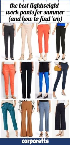 lightweight summer dress pants for women   the best lightweight fabrics for summer   how to stay professional and cool in the summer   how to dress for work when it's hot outside