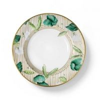 Potager Gold Soup Plate - Alberto Pinto - www.fxdougherty.com
