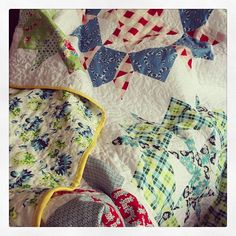 2nd finish of 2013 - gotta keep this momentum up! #swoonquilt by Paula Wessells, via Flickr