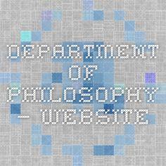 Department of Philosophy — Website