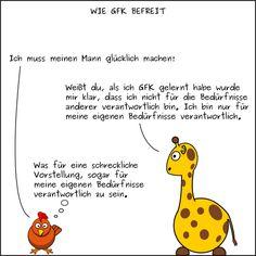 BGFK (Beinahe Gewaltfreie Kommunikation) Cartoons