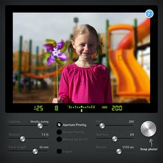 This simulator shows how different camera settings affect an image.s I use this site when I'm teaching my photography students about exposure settings.