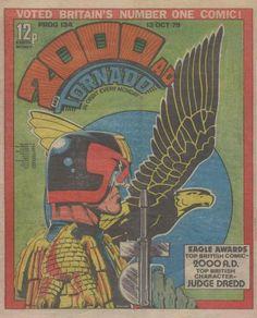 2000 AD, Prog 134, Judge Dredd