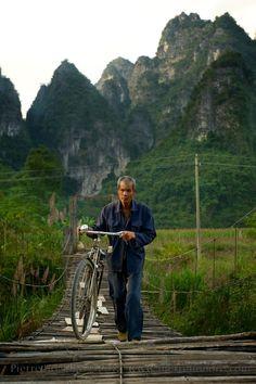 Road trip 2, Guangxi, China. by Pierre Honore, via Behance