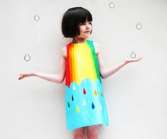 Are you interested in our  baby girls dress rainbow? With our girls print party dress you need look no further.