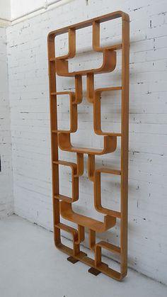 THONET ROOM DIVIDER - 1960's mid century modern wooden decor