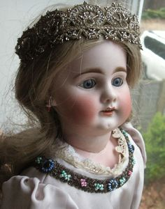 Old Vintage Antique Bisque Head German Bahr & Proschild 300 Doll c.1910 Germany | eBay