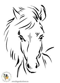 cavalli_da_colorare_28.jpg - disegni da colorare dei cartoni animati