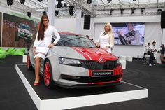 Skoda Rapid Sport: Were We the Only Existing Copy! Car Sit, S Car, Metallic Colors, Alloy Wheel, Red S, Concept Cars, Automobile, Vehicles, Design