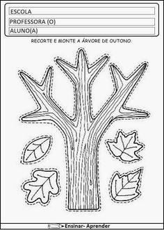 Atividades sobre outono, atividades de outono, atividade com soma, atividade com diagrama,...