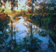 """""""Landscape with Reflection"""" 
