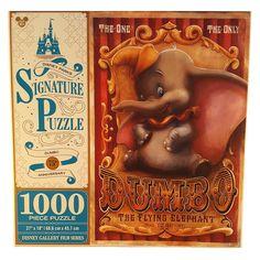 Dumbo The Flying Elephant Disney Parks Signature 1000 Pc Jigsaw Puzzle